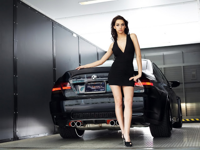 female-model-and-car-hd-wallpaper