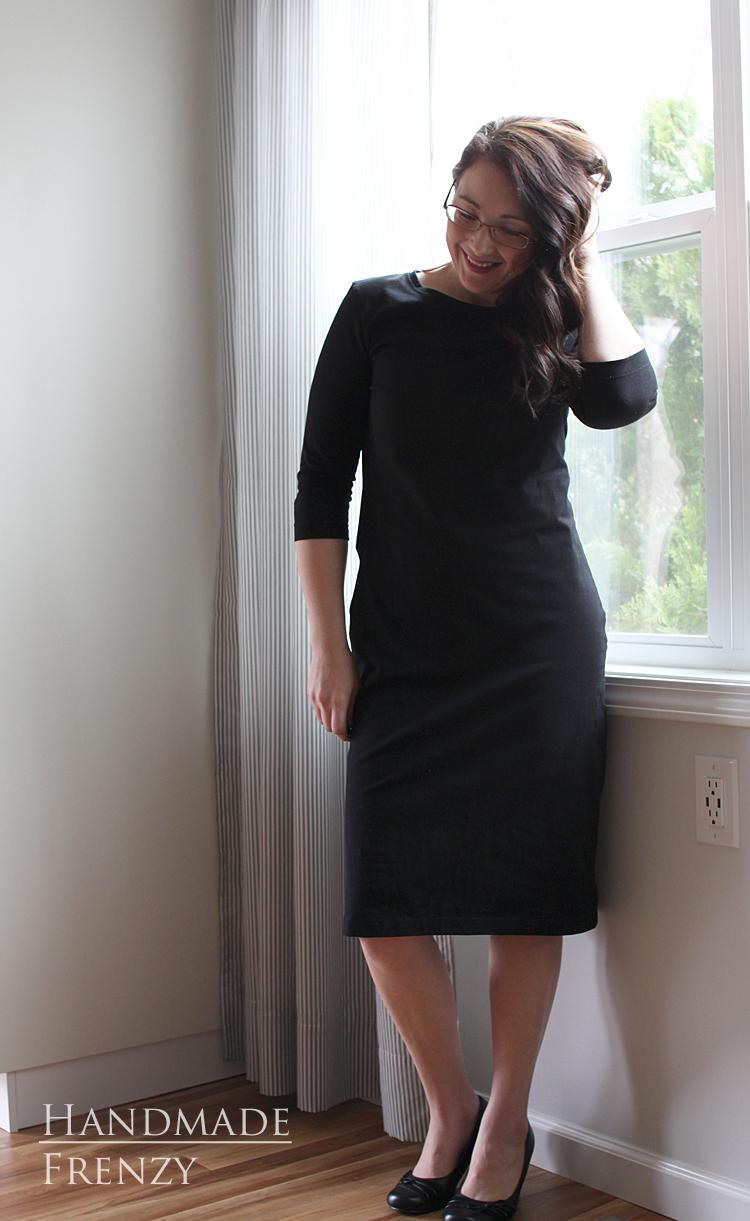 Panama Tee Dress // Sewing For Women
