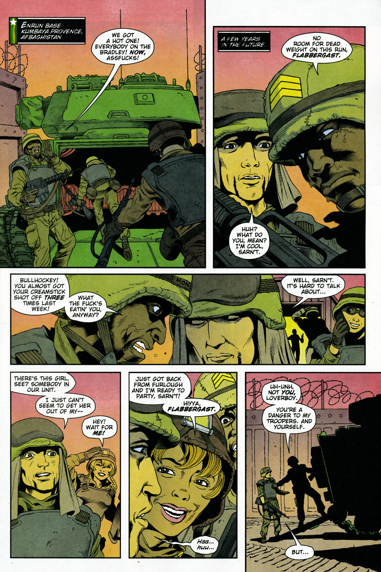 Read online Army @ Love comic -  Issue #5 - 2