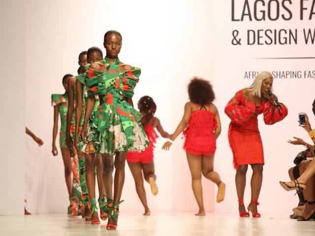 Tiwa Savage and the Heineken collection by Lulu Mutuli and AzraWalji