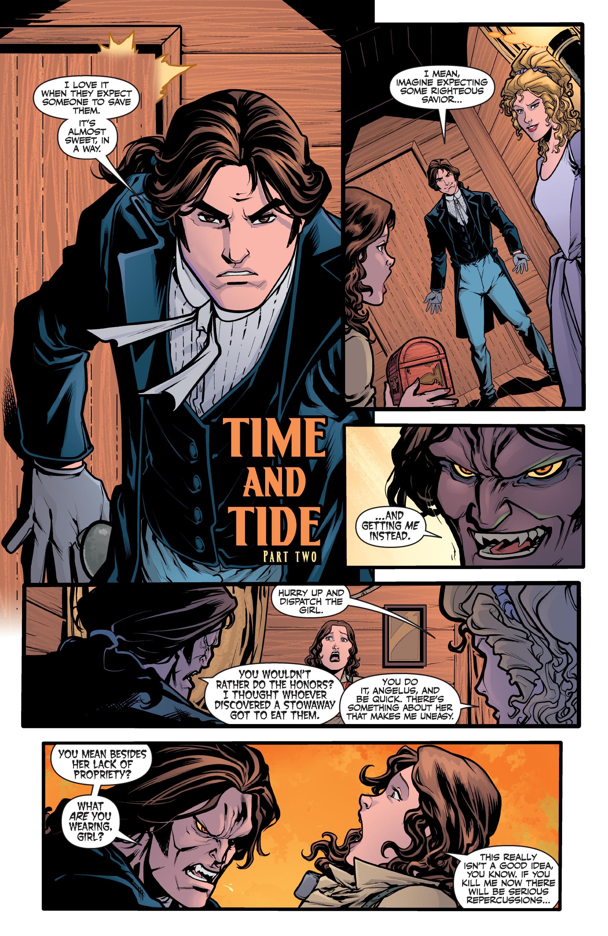 Read online Angel Season 11 comic -  Issue #6 - 4