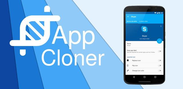 تحميل تطبيق app cloner  full.apk مهكر كامل