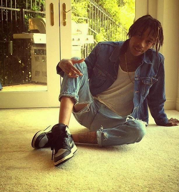 99b772ca536 ... authentic wiz khalifa wearing air jordan 1s bfd9a d5b93