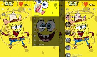 BBM Transparan Spongebob v3.2.0.6 APK Terbaru