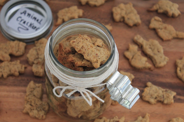 Vegan and Gluten-Free Animal Crackers