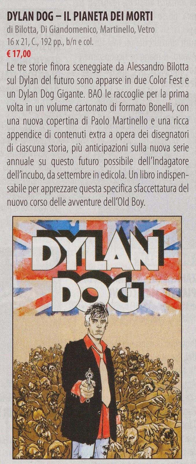 Dylan Dog - Il pianeta dei morti (Anteprima #272)