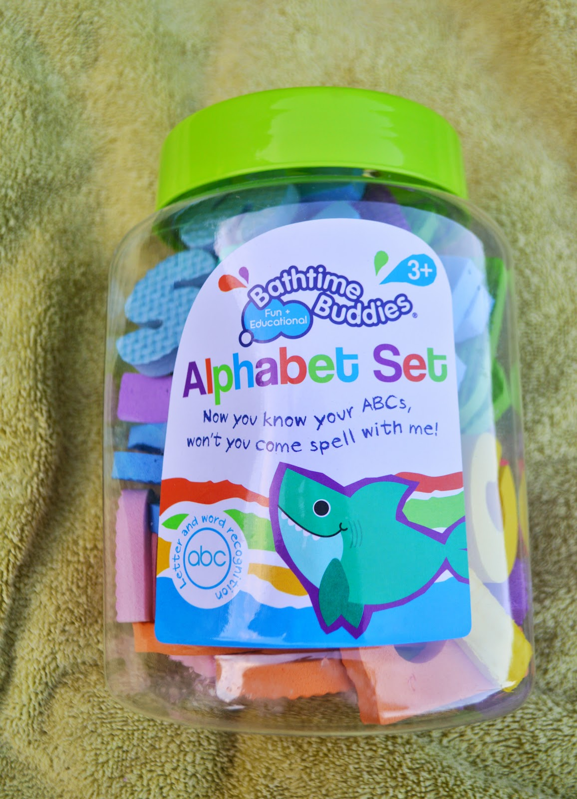 , Bathtime Buddies Fun Bath Toys Review and Alphabet Set Giveaway