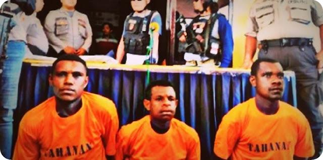 Polisi Kota Sorong Tangkap Tiga Pemerkosa dan Pembunuh Kezia Mamangsa