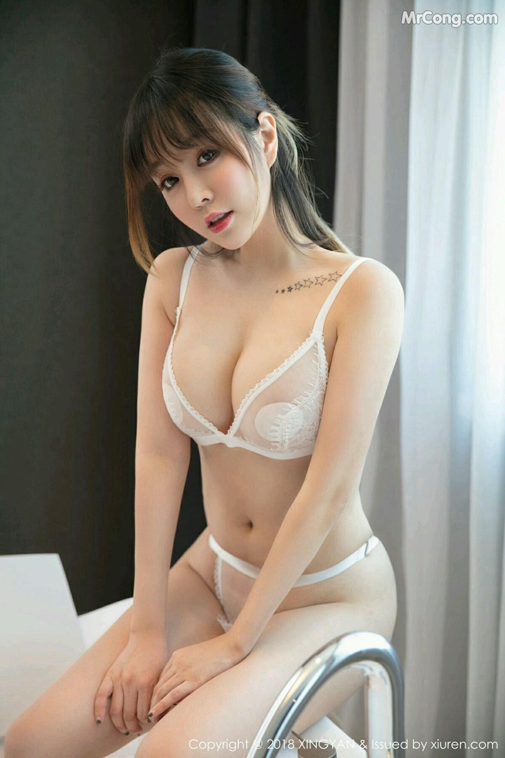 Image XingYan-Vol.076-Wang-Yu-Chun-MrCong.com-008 in post XingYan Vol.076: Người mẫu Wang Yu Chun (王雨纯) (41 ảnh)