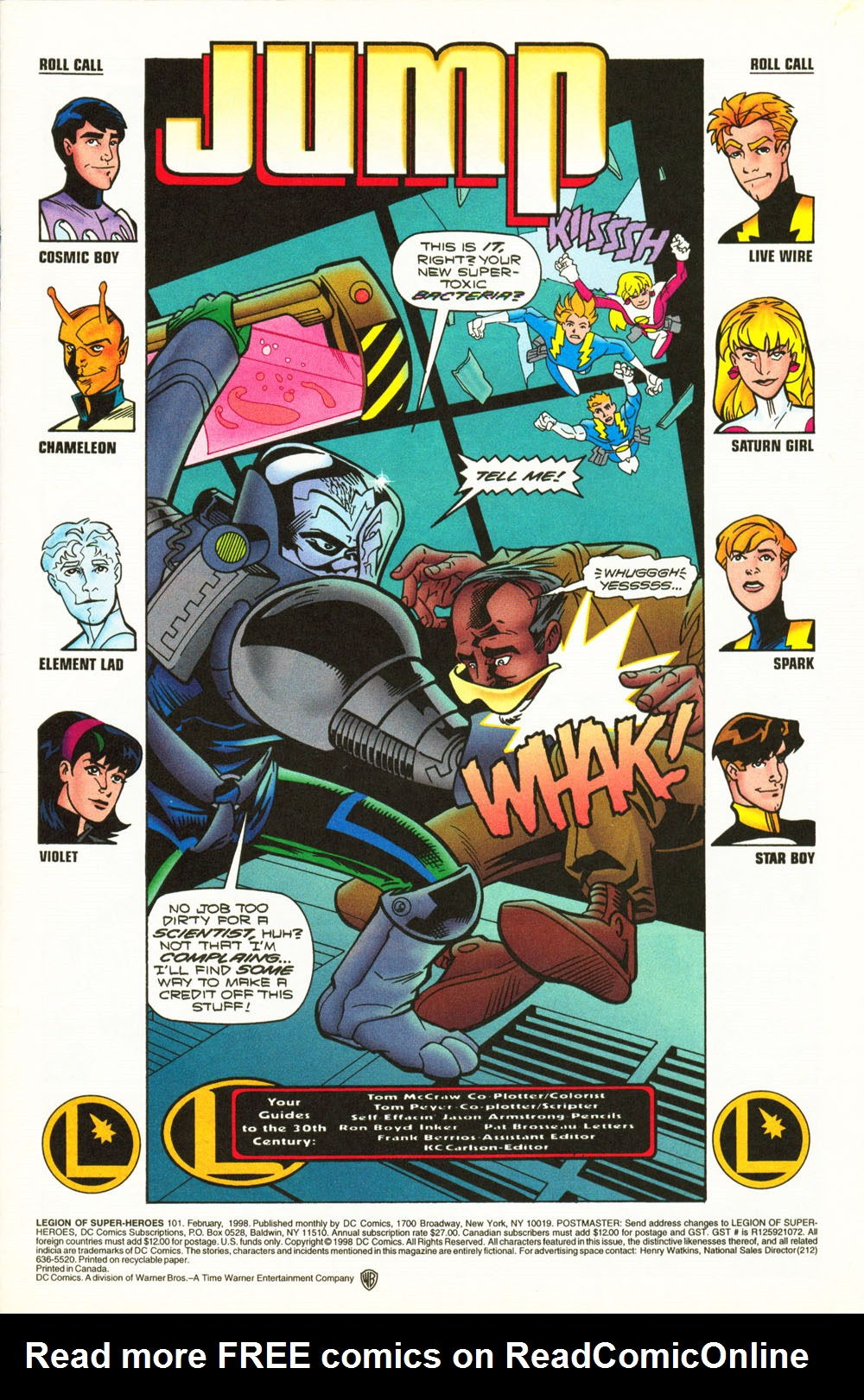 Legion of Super-Heroes (1989) 101 Page 1
