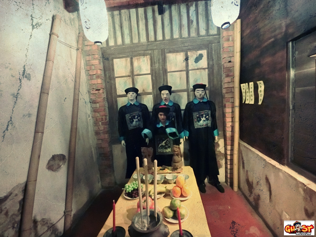 Ghost Museum @Penang : Chinese Zombie