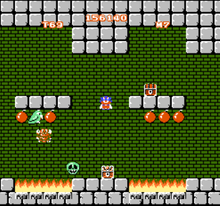 The Amiga and Atari ST versions of Mighty Bomb Jack look practically