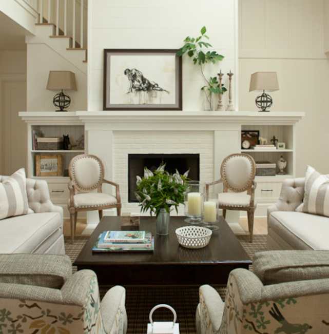 How to decorate with white walls 7 amazing ways to add - How to decorate white walls in living room ...
