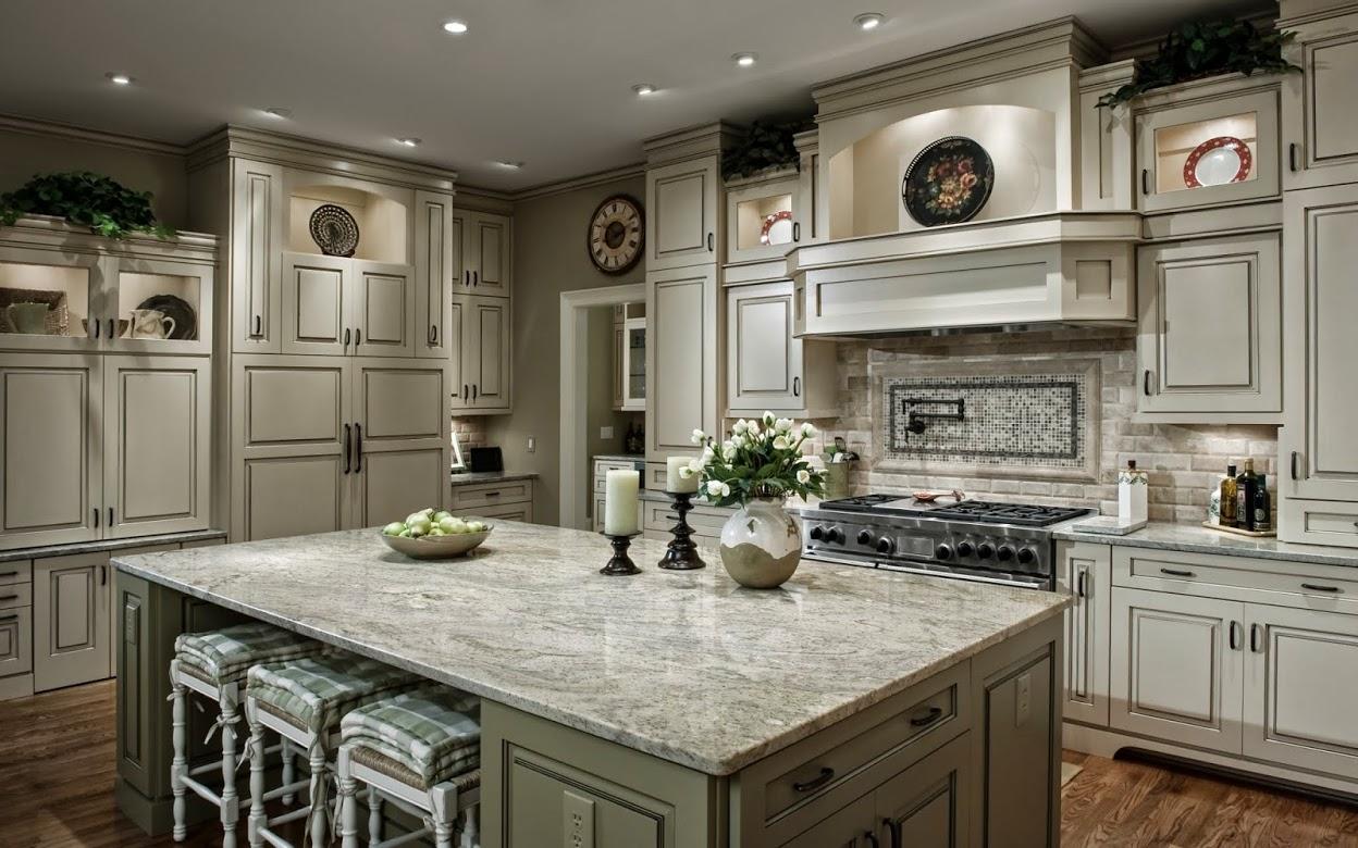 Andino White Granite Kitchen Countertop Ideas