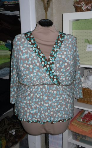Here S The Back Sans Empire Seam Which Will Never Be