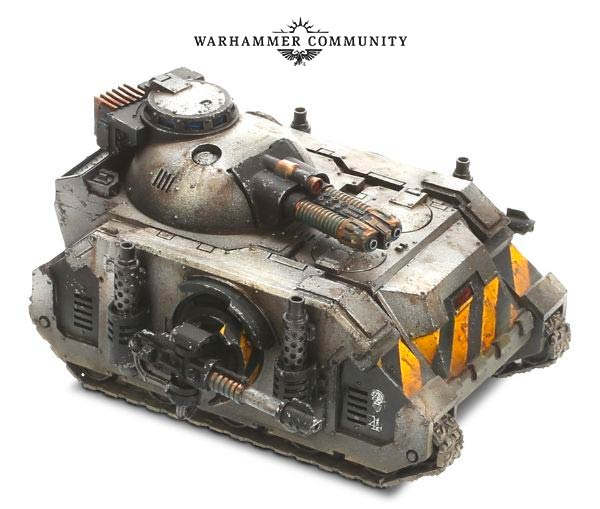 Imperial Armour Index Chaos.... the Hellforged Predator