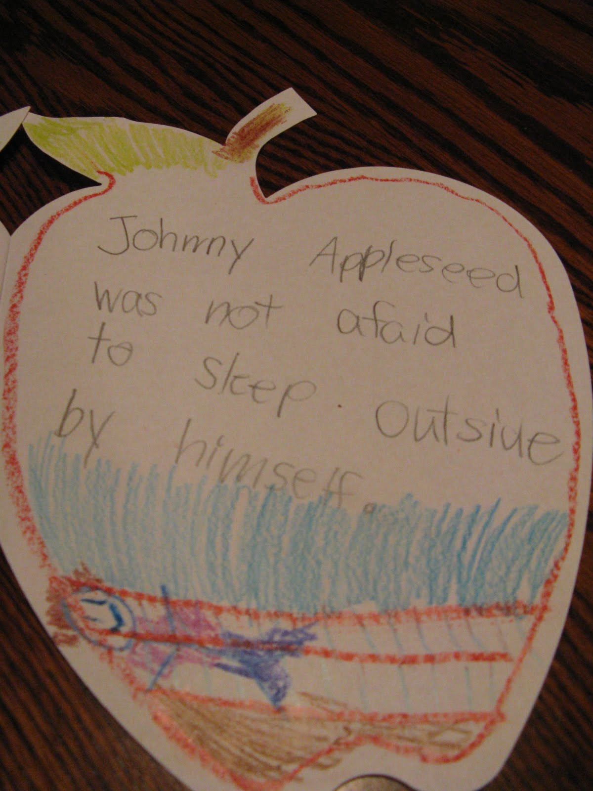 Only In First Grade Johnny Appleseed