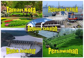 Gambar Contoh Lingkungan Buatan