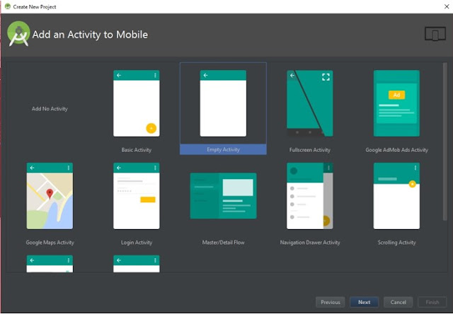 "Cara membuat project pertama ""Hello World"" pada android studio 2.1.2"
