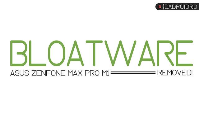 Cara menghapus aplikasi System di Asus Zenfone Max Pro M1 Tanpa ROOT