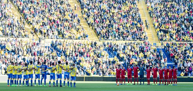 Alineación inicial UD Las Palmas - Sevilla FC