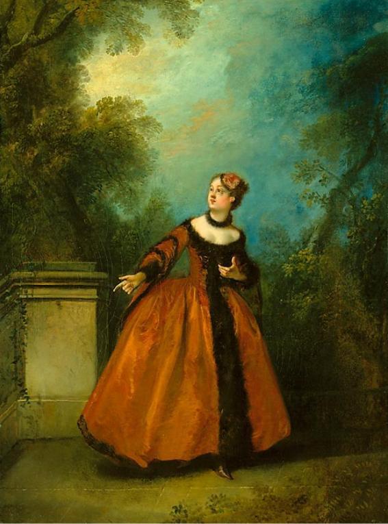 Nicolas Lancret, La Belle Grecque. 1731-36, oil on canvas ...