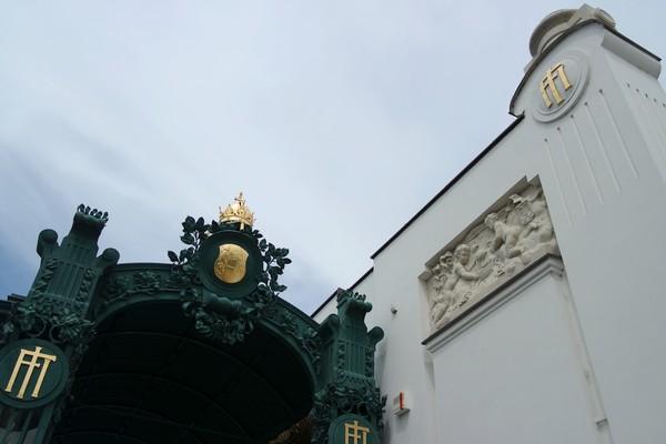 vienne vienna otto wagner art nouveau sécession pavillon hietzing hofpavillon schönbrunn