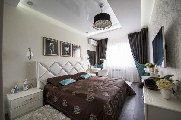 Modern Apartment design With Purple Color - Decor Units