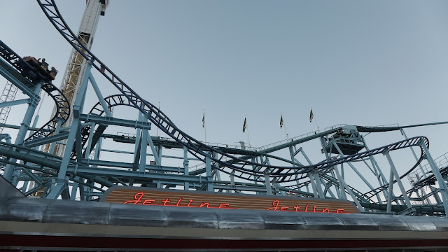 Photo of Jetline Entrance and Roller Coasters at Grona Lund