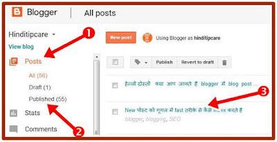change published post url