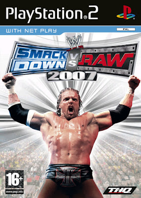 WWE SmackDown vs Raw 2007 PS2 GAME ISO