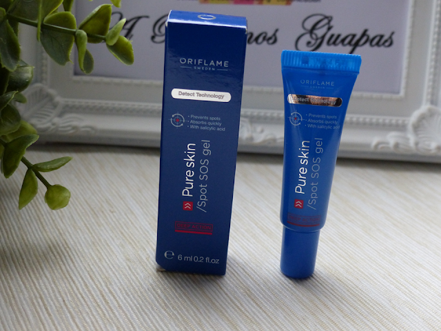 Pure Skin Oriflame Spot SOS gel