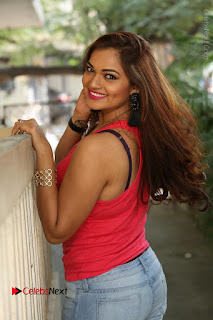 Tollywood Actress Ashwini Latest Stills in Ripped Jeans  0134.JPG