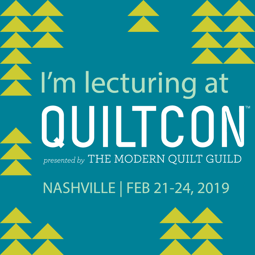 Lectures at QuiltCon
