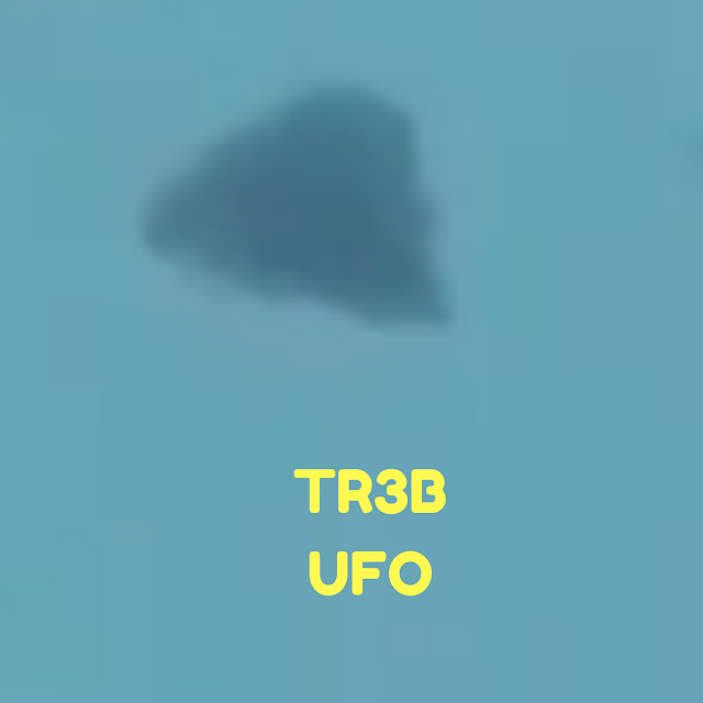 Here's the best image of a Triangle UFO.