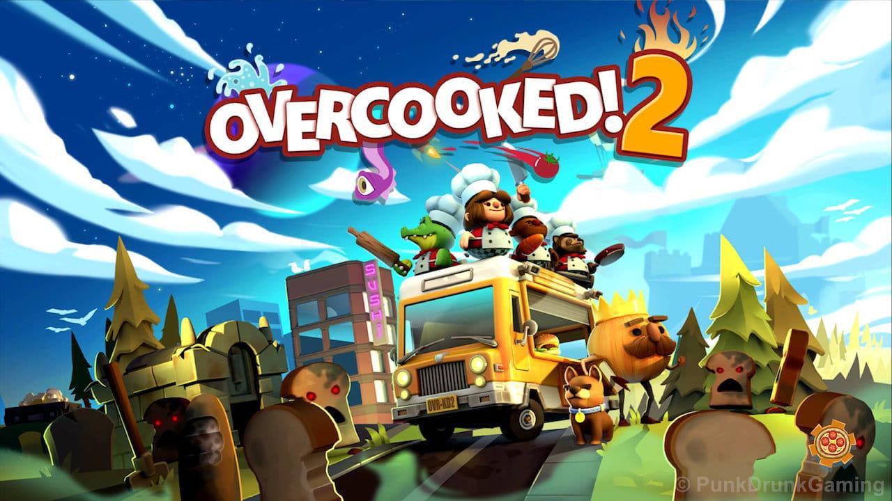 Overcooked 2のタイトル画面