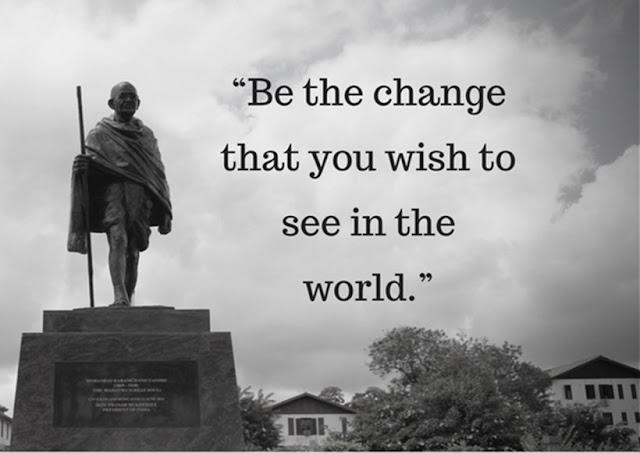 Mahatma Gandhi ON LIFE