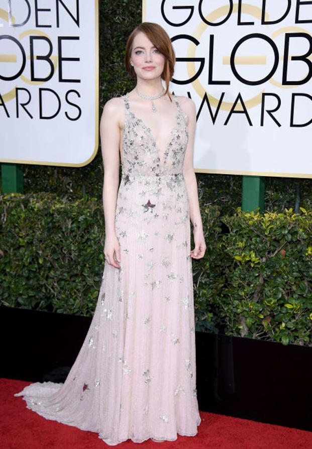 Emma Stone Golden Glones 2017