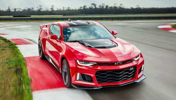 The 2017 Chevrolet Camaro ZL1 release price tag of $69,135