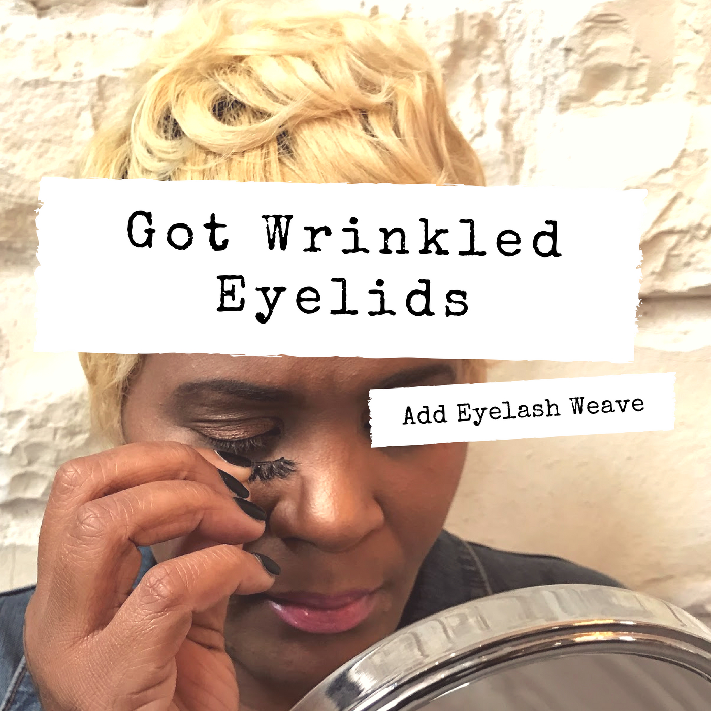 Image: Do you have wrinkle or hooded eyelides? Do you want to wear falsies to enhance those eyes? Well, I will be sharing a quick tutorial with pictures and sharing my story. Hope this inspires you to get back out there and live your best and beautiful life. Eyelash Beauty Tutorial , Tips and Ideas