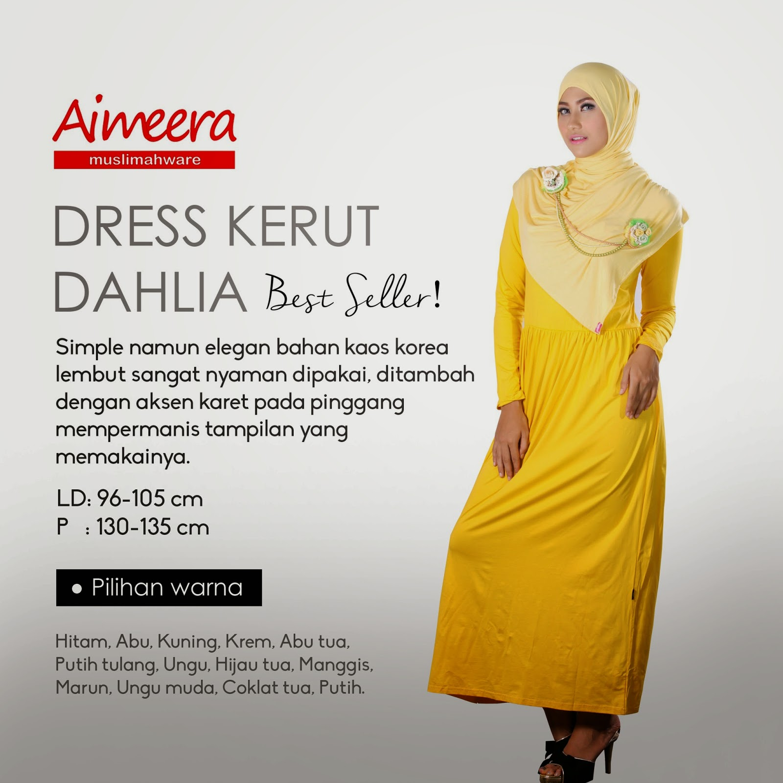 Dress Kerut Dahlia