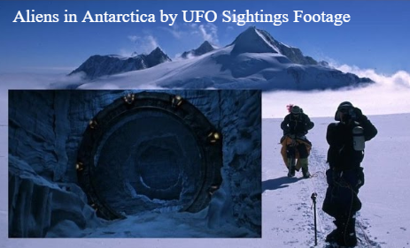 Are there Aliens in Antarctica and why is Nasa testing drones there that are going to Europa.