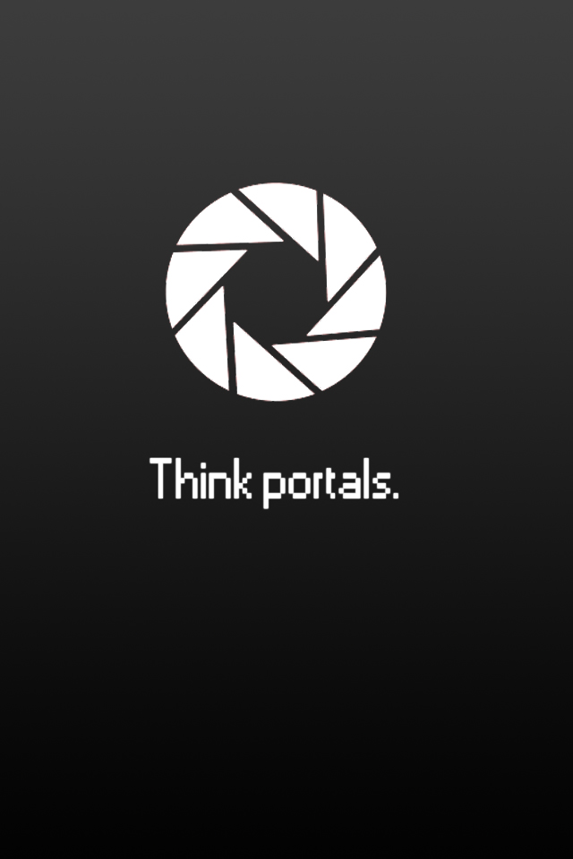 Download Portal iphone Background