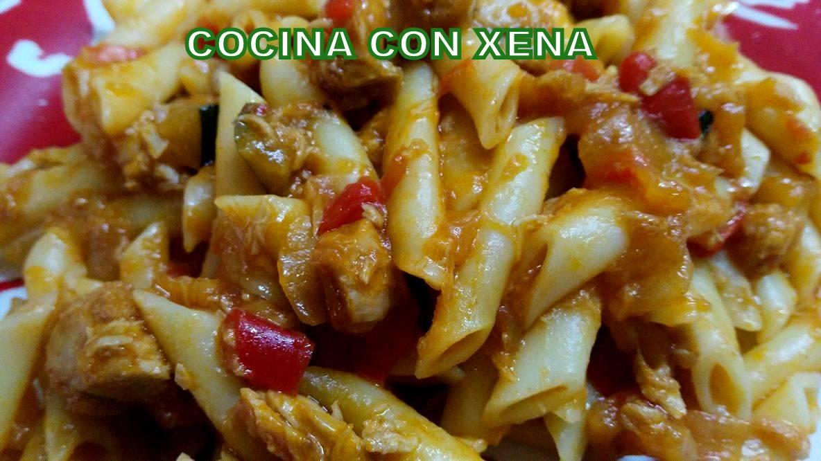 Cocina con xena macarrones express en ollas gm e f o for Cocina con xena olla gm d