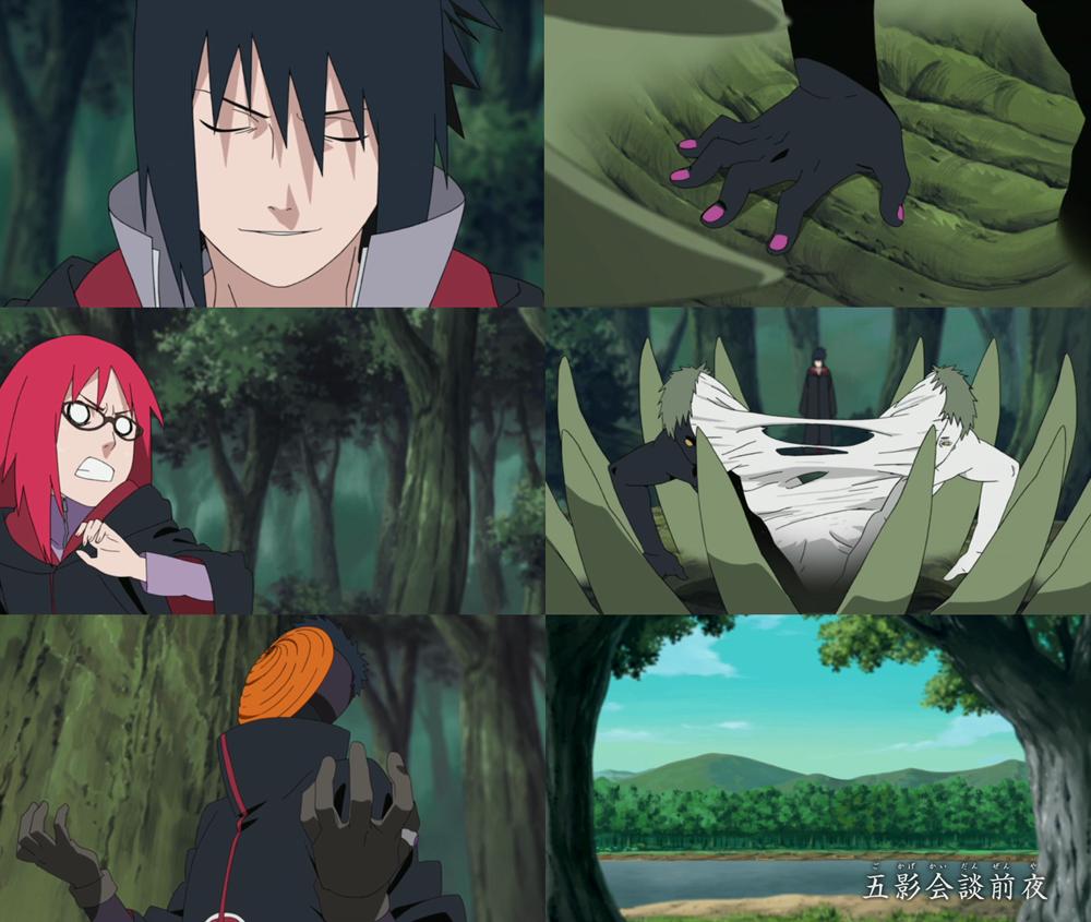 New Anime Capture: Naruto Shippuden - Episode 198 - Five ...
