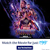 Avengers End Game – Get 100% Cashback Upto ₹250 On Movie Tickets