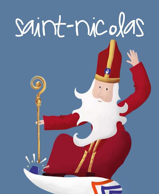 La Saint-Nicolas, la tradition de la Saint-Nicolas 6 décembre, les origines de la Saint-Nicolas, FLE, Le FLE en un 'clic'