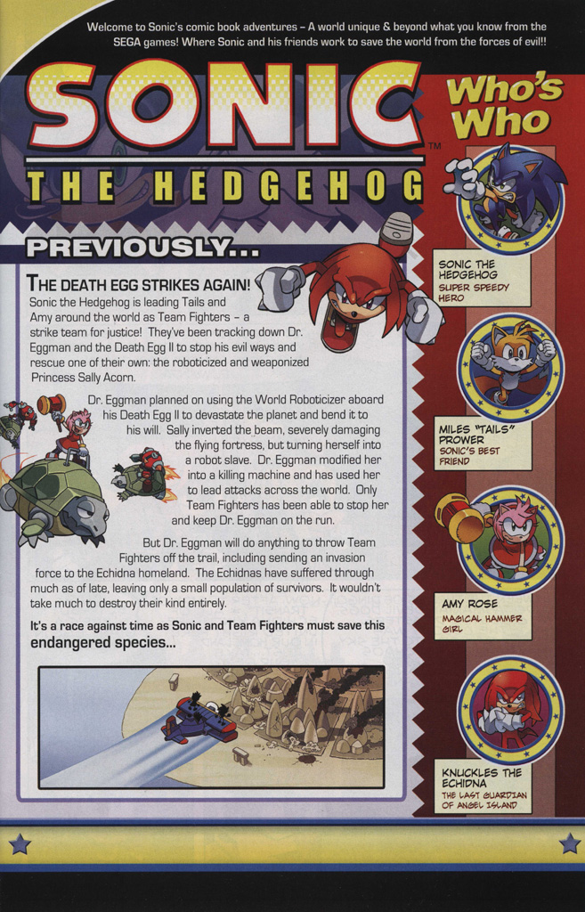 Read online Sonic The Hedgehog comic -  Issue #243 - 3