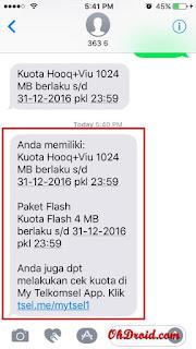 Cara Cek Kuota Telkomsel via Panggilan