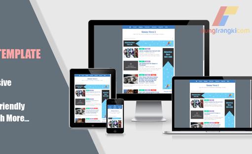 Simini Versi 2: Responsive, High CTR, Mobile Friendly Blogger Template